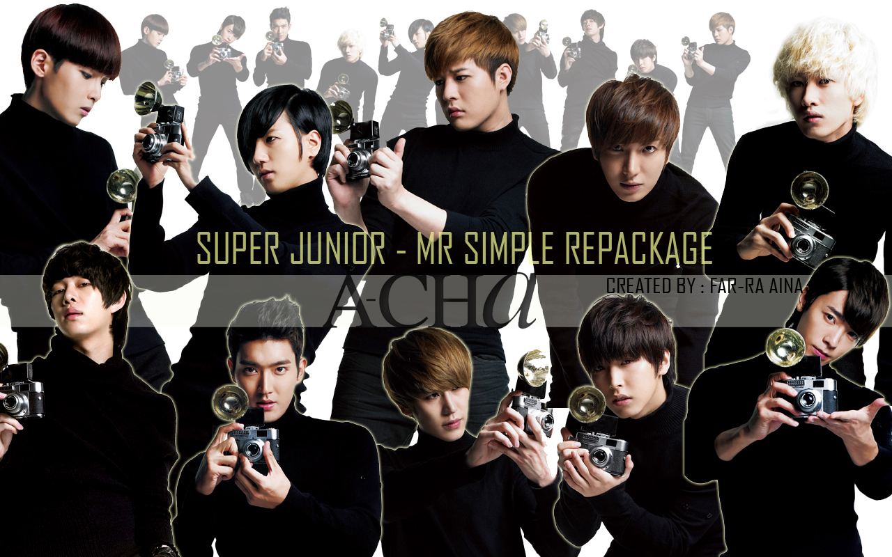 Super Junior Wallpaper Mr Simple 5jib mrsimple hajin kyu~